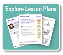 Explore lesson plans icon button