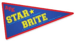 Pennant with our STAR BRITE Values