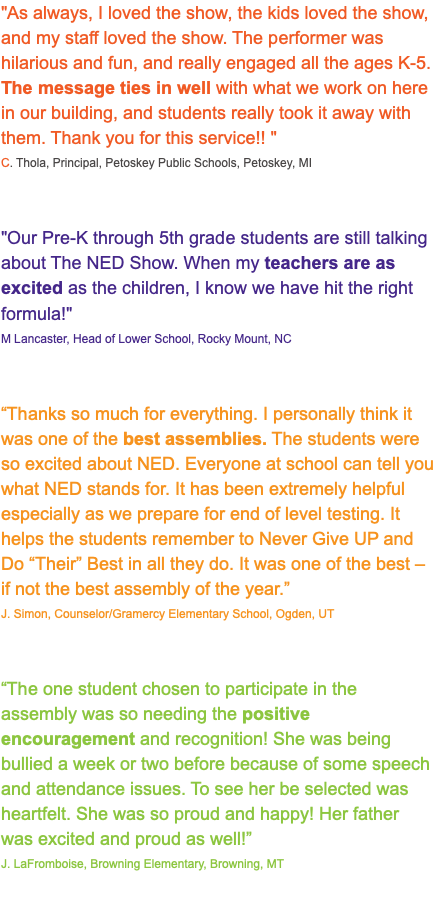 What Do We Really Know About Pre K >> Reviews For The Ned Show