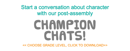 Start a conversation about character 